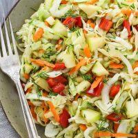 Super Healthy Cabbage Salad