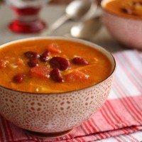 Vegetable Soup with Bulgur (Vegan & Low-Glycemic)