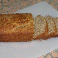 Oat Bran Banana Bread