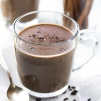 Healthy Cinnamon Hot Chocolate