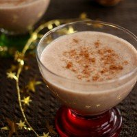 Healthy Holiday Treats - Vegan Eggnog