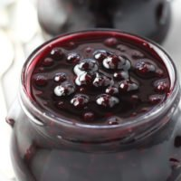 Healthy Blueberry Sauce - Low Sugar, No Cornstarch