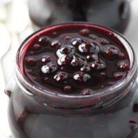 Healthy Blueberry Sauce – Low Sugar, No Cornstarch