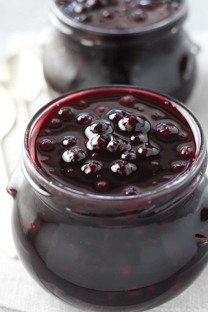 Healthy Blueberry Sauce