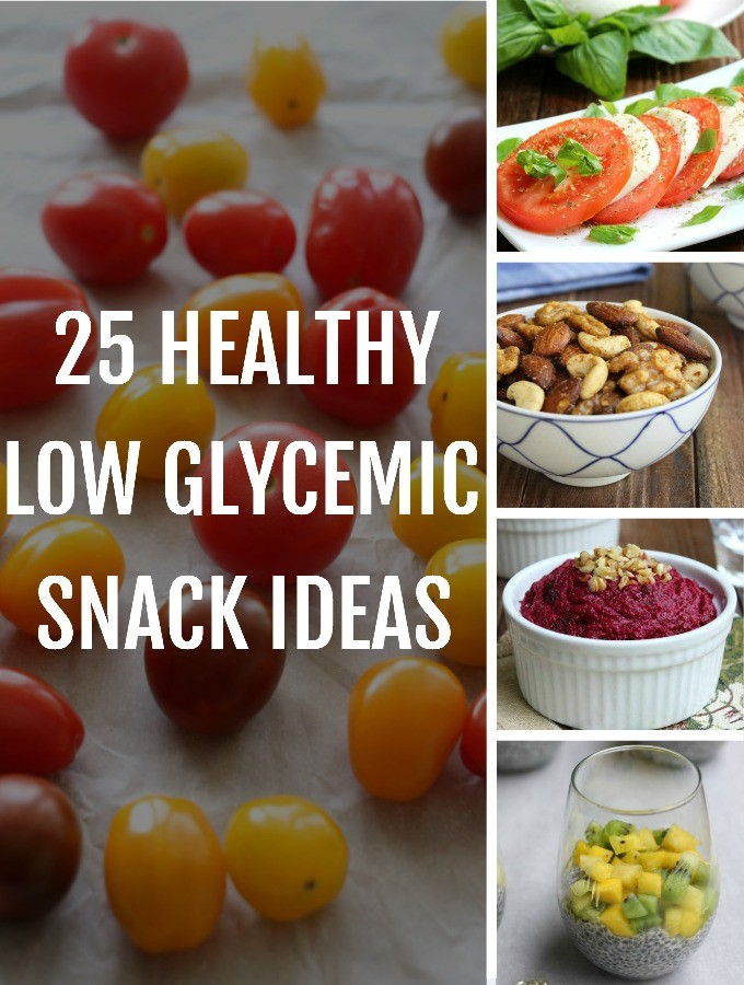low glycemic snack ideas