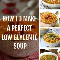 HOW TO MAKE LOW GLYCEMIC SOUP