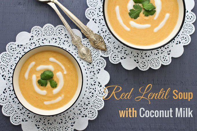 Spiced Lentil Soup With Coconut Milk Recipes — Dishmaps