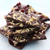 Dark Chocolate Bark with Sea Salt