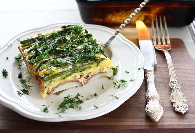 Asparagus Salmon Egg