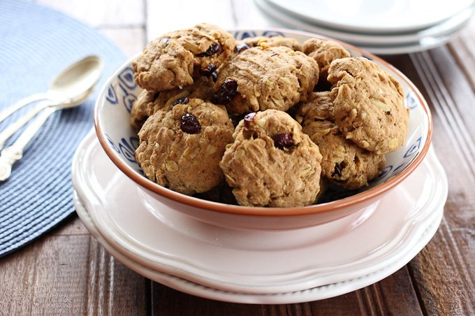 Recipe for spelt oatmeal cookies