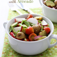 Potato Salad with Avocado