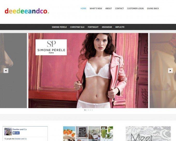Deedee and Co website