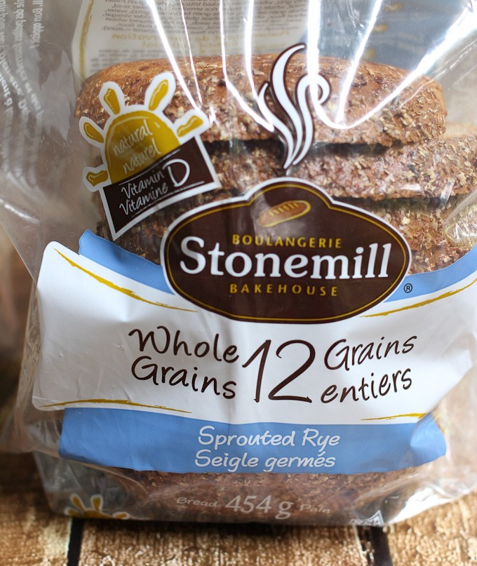 12 Grains Sprouted Rye Bread.