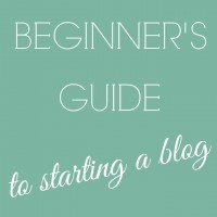 Introducing the Beginner's Guide to Starting a Blog