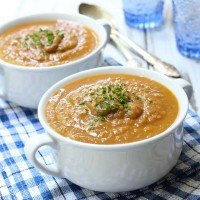 Eggplant Vegetable Soup