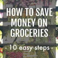 How to Save Money on Groceries - 10 Easy Steps