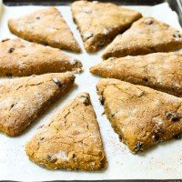 Spiced Pumpkin Scones