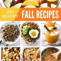 25+ Healthy Fall Recipes