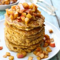 Healthy Oatmeal Pancakes Recipe