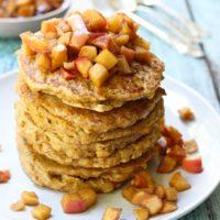 Healthy Oatmeal Pancakes Recipe