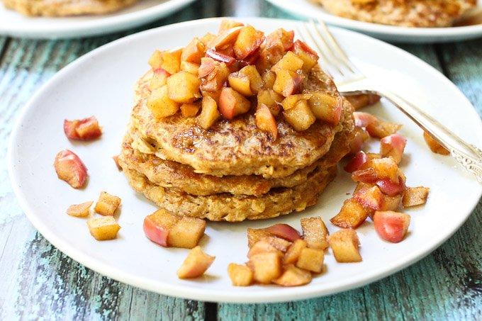 Oatmeal Pancakes_