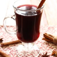 Mulled Wine (Gluhwein) with Rooibos Tea