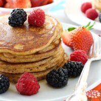 Buttermilk Pancakes Made with Spelt Flour