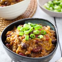 Quinoa Chili with Veggies
