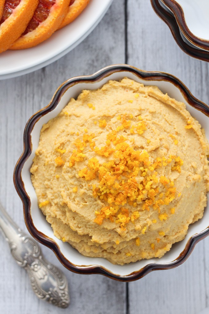 Orange Hummus Recipe