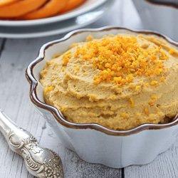 Orange Hummus Recipe