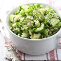 Green Quinoa Salad