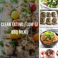 Clean Eating BBQ Menu