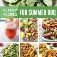 Clean Eating BBQ Menu Recipe Ideas