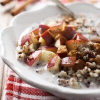 Apple Cinnamon Quinoa Breakfast