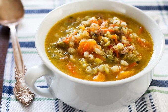 recipe: lentil barley vegetable soup [24]