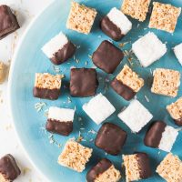 Healthy 2-Ingredient Coconut Bites - 3 Ways