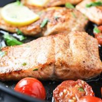 Pan Fried Rainbow Trout
