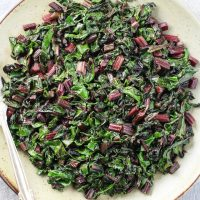 Easy Sauteed Beet Greens Recipe