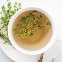 How to Make Thyme Tea