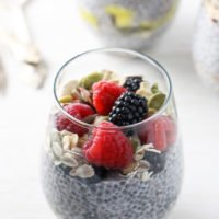 Chia Pudding Breakfast Parfait – 3 Ways