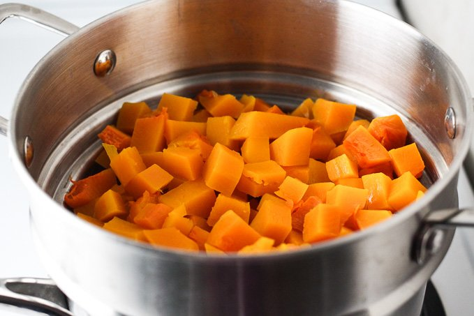 How to Steam Butternut Squash