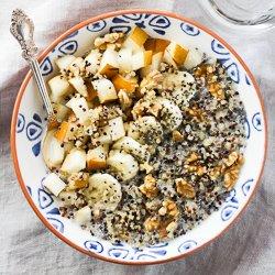 Fruit and Nut Quinoa Breakfast