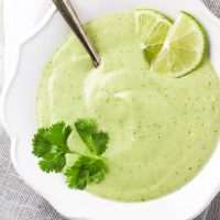 Cold Avocado Soup - Ready in 3 Minutes!