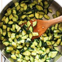 Easy Sauteed Zucchini with Garlic