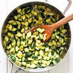 Easy Sauteed Zucchini with Garlic