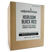 Rebirth Rice Heirloom Black Rice