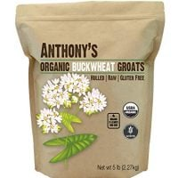 Organic Raw Hulled Buckwheat Groats | by Anthony's