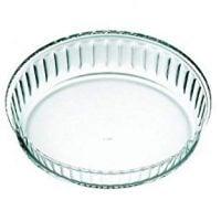 Simax Clear Glass Cake Dish
