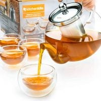 Stovetop Safe Glass Teapot