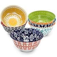 Annovero Porcelain Bowls Set